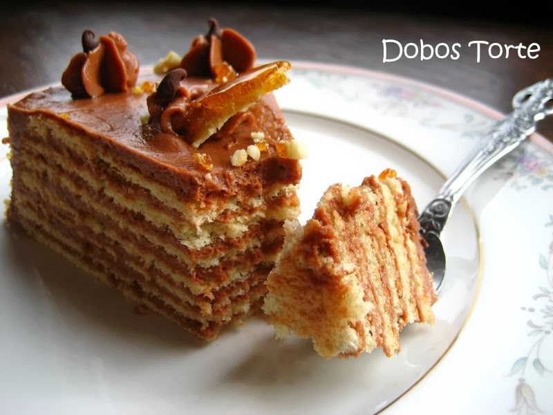 dobos torte ah finally i baked my first dobos torte after so many ...