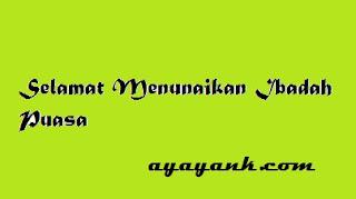 Jadwal Imsakiyah Ramadhan 2012