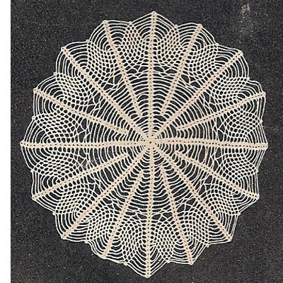 Vintage Knit Crochet Shop Talk Crochet Doily Patterns Vintage 1947