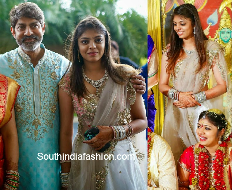 Jagapathi Babu's Younger Daughter in Anushree Reddy ...