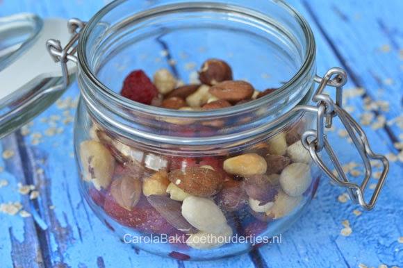 nootjes in Overnight oats