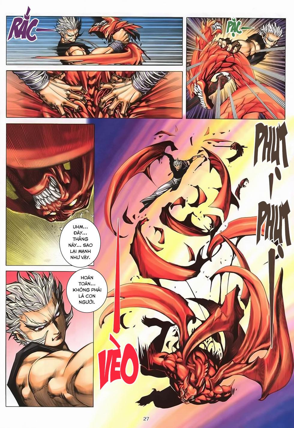 Chiến Thần Ký chap 40 - Trang 27