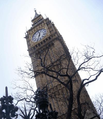 Selintas Big Ben