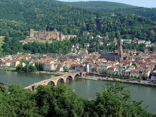 gambar heidelberg tempat frankfurt wisata jerman terpopuler