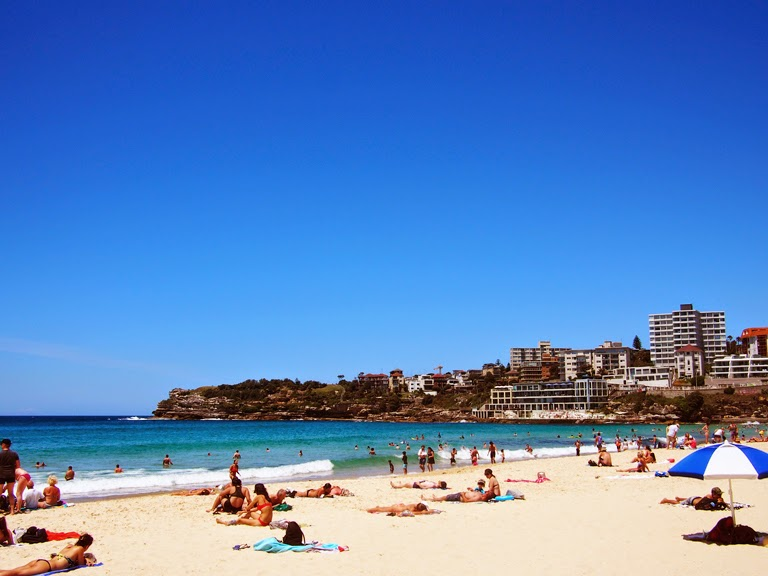 bondi beach view