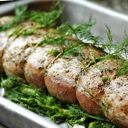 Grill-Roasted Pork Loin