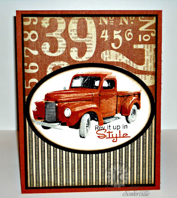 Stamps - Kitchen Sink Stamps Multi Step Classic Old Truck