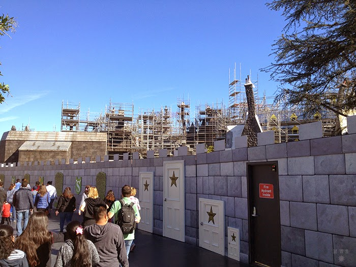 Wizarding World of Harry Potter Construction