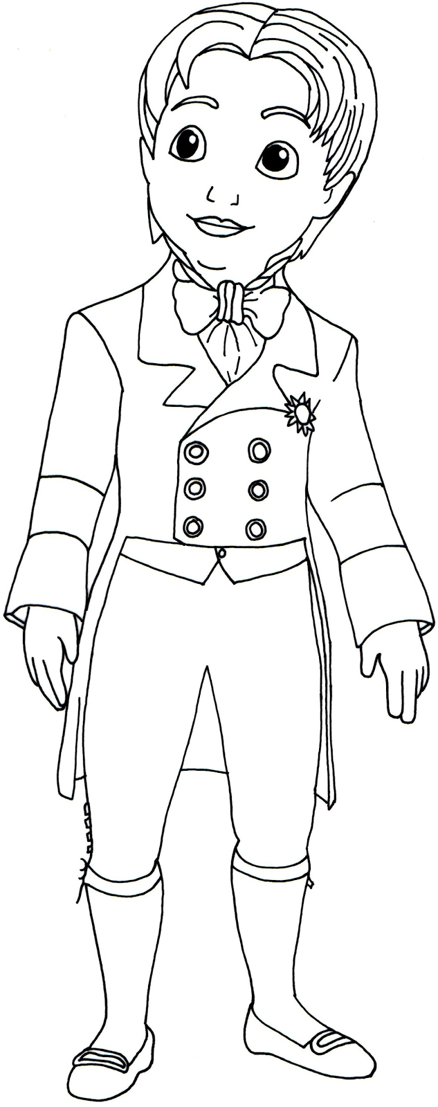 sofia the first coloring pages prince james sofia the first