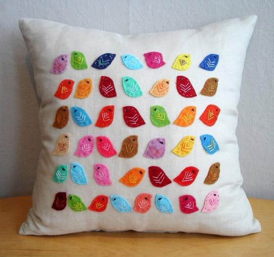Обычные подушки своими руками