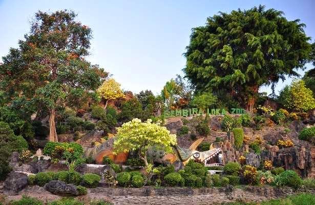 Kebun Binatang Gembira Loka - tempat wisata di jogja