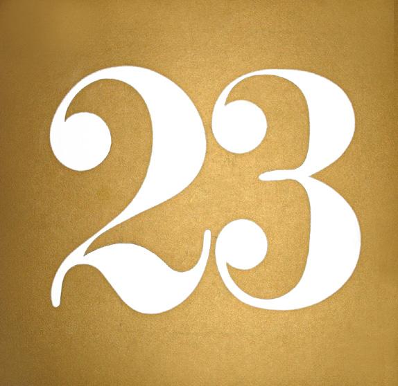 O número 23 é uma Psicologia Subliminar, que é basicamente assim: Quando  você quer alguma coisa você procura ela. Se você esta procurando pelo  numero 23, ...
