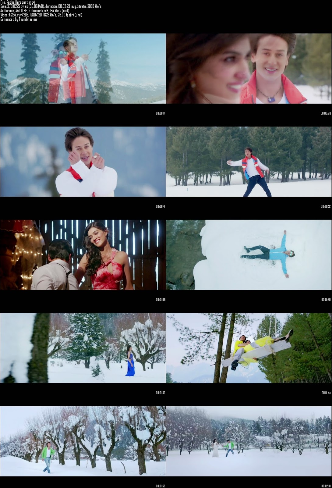 Mediafire Resumable Download Link For Video Song Rabba - Heropanti (2014)