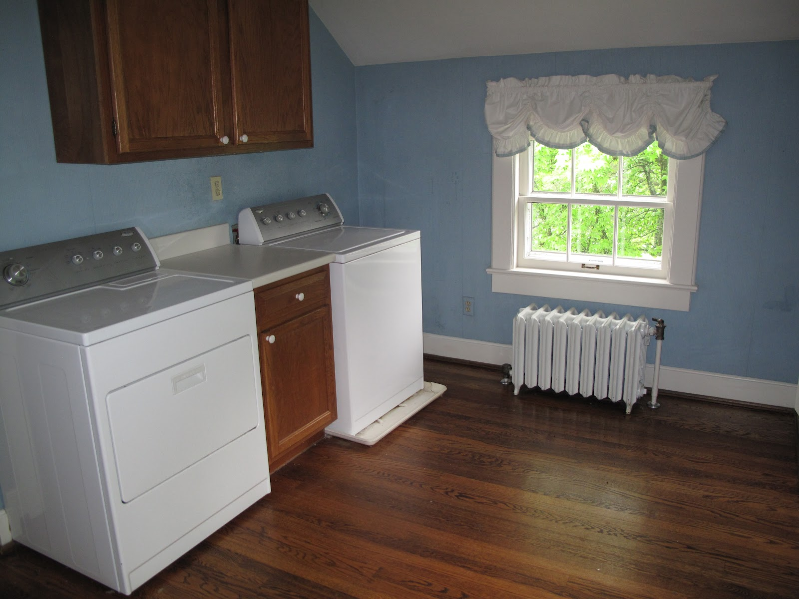Laundry Room makeover - On Chestnut Ridge