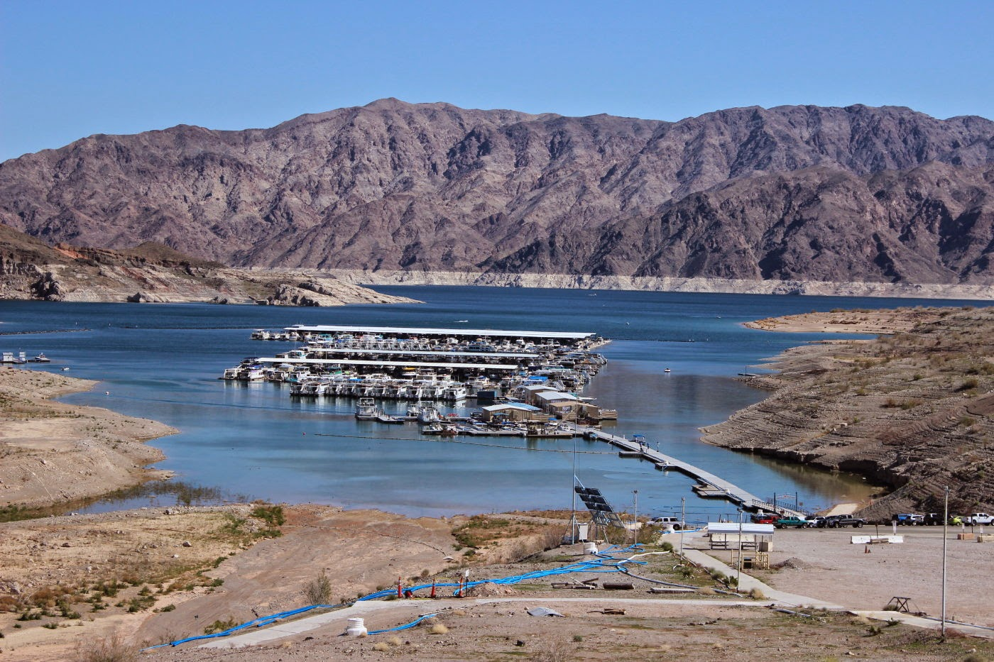 J and b and lady blue hoover dam and lake mead nra for Fishing lake mead