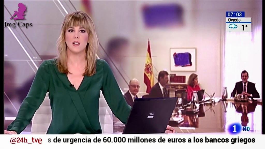 ANA IBAÑEZ, TELEDIARIO MATINAL (06.02.15)