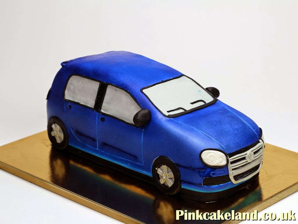 VW Golf Birthday Cake, London