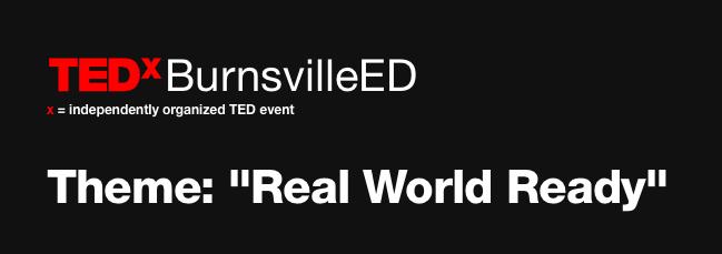 TEDx BurnsvilleED Speaker
