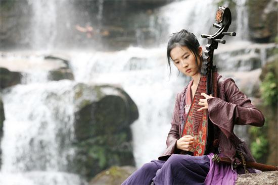 crystal liu yifei in forbidden kingdom photo 02