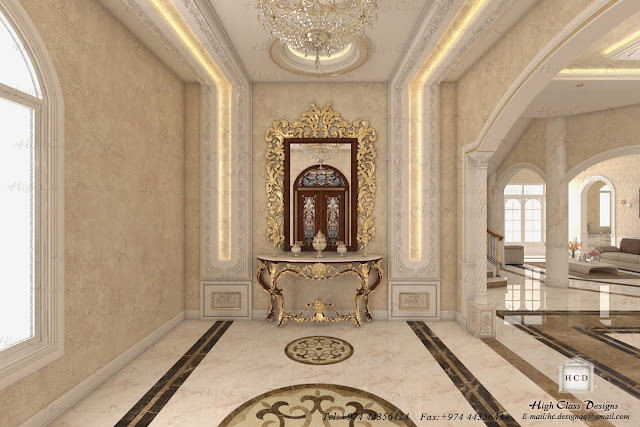 High class designs classic design of luxury villa for Luxury classic interior design