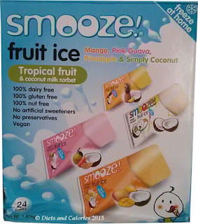 Smooze variety pack ice lollies
