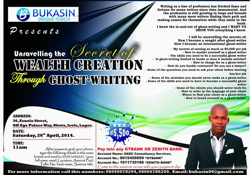 How Much Is A Ghostwriter