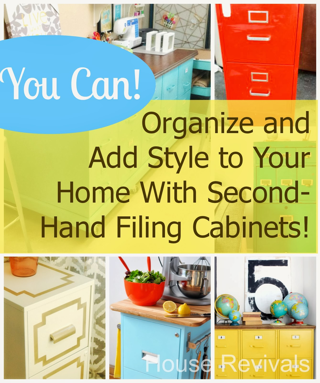 Ways to Organize File Cabinet