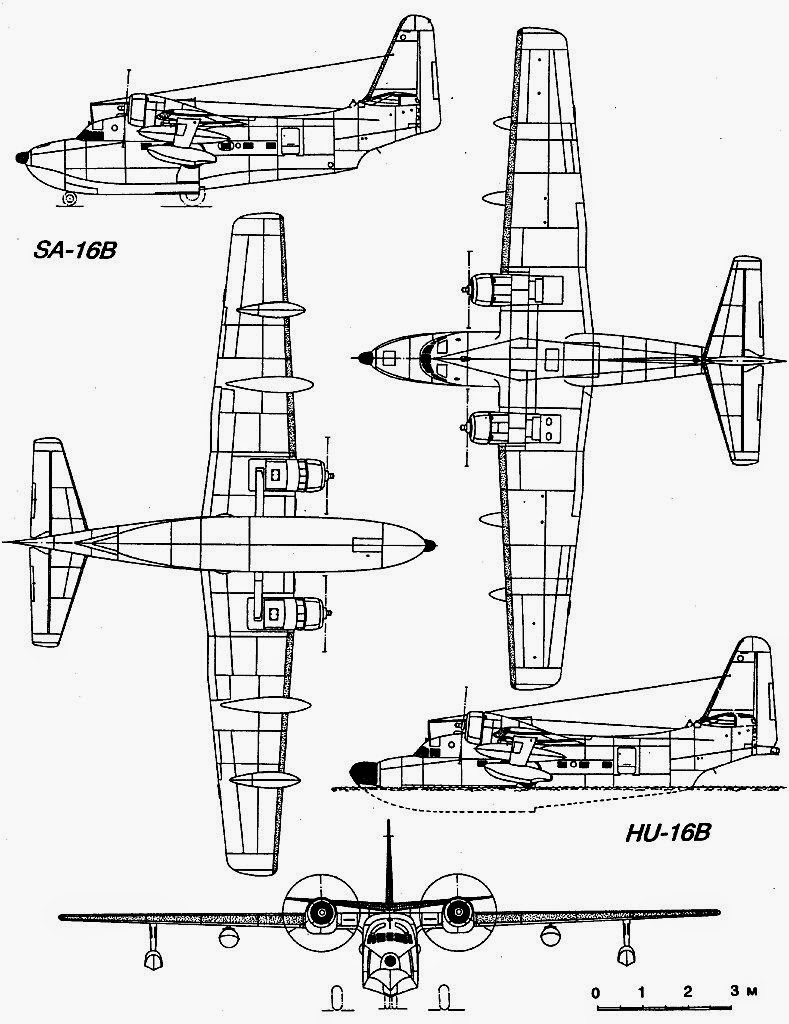 airplane scale modelkit  grumman hu