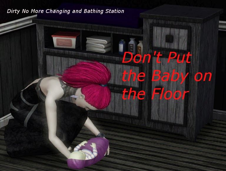 This Mod Replaces The Give Bath And Change Clothes Interactions On The  Dirty No More Changing And Bathing Station With Versions Of The  Interactions That Do ...
