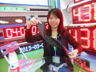 led moving sign, flexible led screen