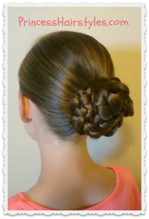 Easy triple braid bun back to school hairstyles hairstyles for triple braid bun tutorial easy and quick pmusecretfo Image collections