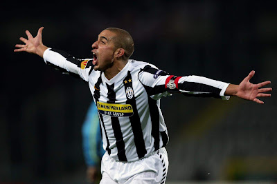 Trezeguet juventus Goal Celebration
