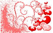 Imagen de Amor con Corazones y Mariposas (imagenes postales de amor con corazones )