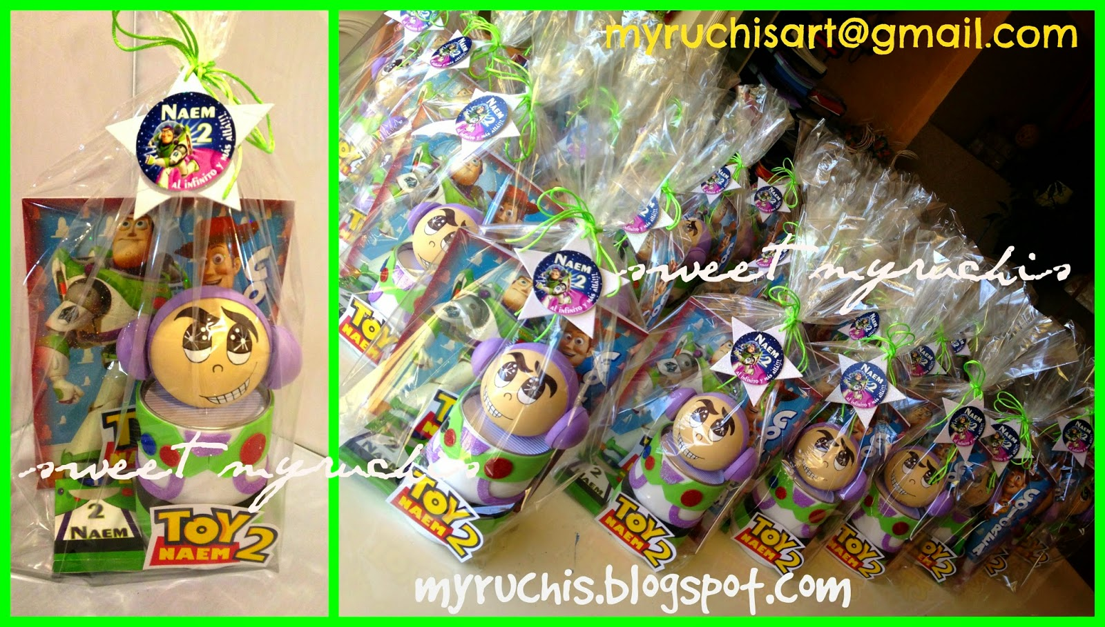 Myruchis: Dulceros Toy Story. Buzz Light Year