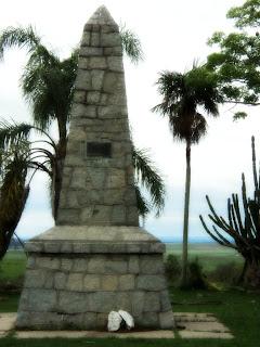 Monumento à Batalha do Caiboaté, em São Gabriel, RS