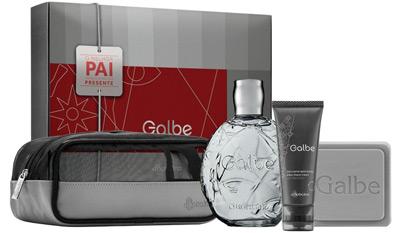 O Boticário Galbe kit desodorante colônia gel Creme apos barba sabonete perfumado necessaire