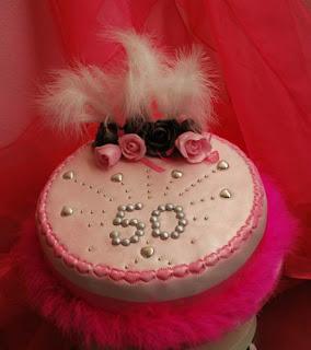 Amazing Design 50th Birthday Cakes for Women