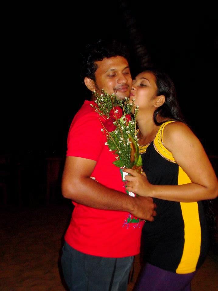 Madhu Nithyani kiss