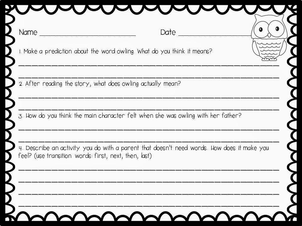 Moon Worksheets Delibertad – Owl Worksheets
