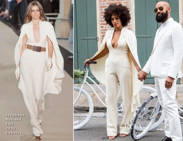 Solange Knowles E Alan Ferguson Casamento Em Branco