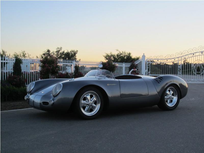 1955 porsche 550 spyder 911 6 cylinder powered outlaw - 1955 Porsche Spyder 550