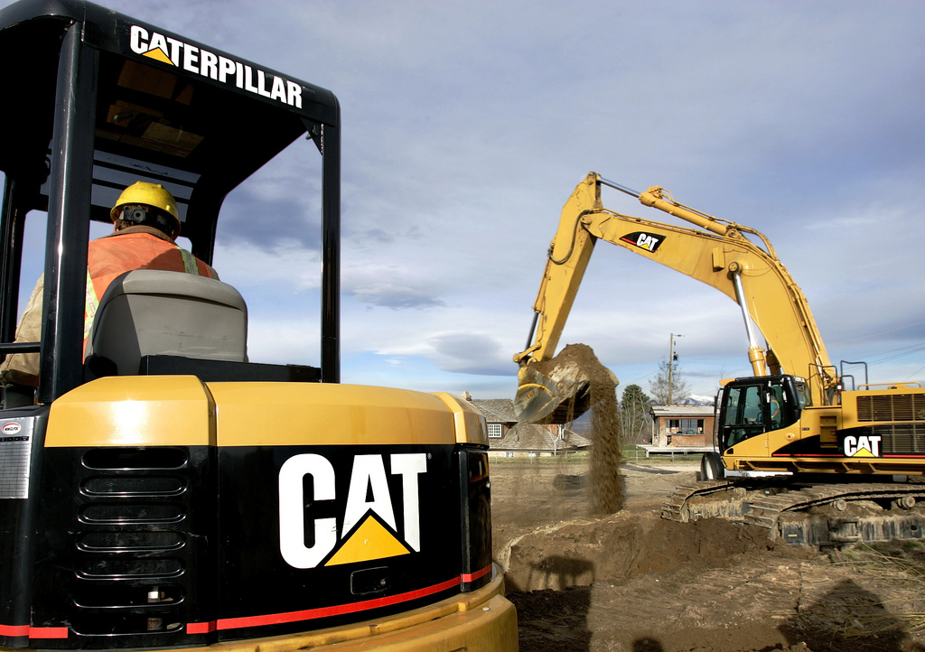 caterpillar inc Caterpillar is the world's largest manufacturer of heavy construction and mining  equipment as a component of the dow jones industrial.