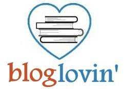 Book-themed Bloglovin Button