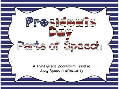https://www.teacherspayteachers.com/Product/Presidential-Parts-of-Speech-205729