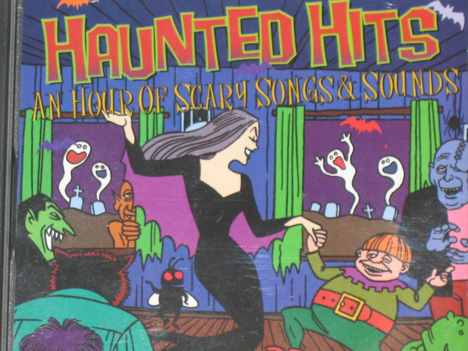 Michael Doherty's Music Log: Haunted Hits: An Hour Of Scary Songs ...