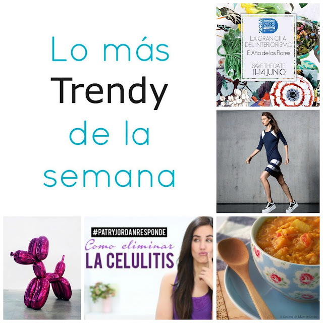 Trendy planes moda eventos exposicion healthy food deco