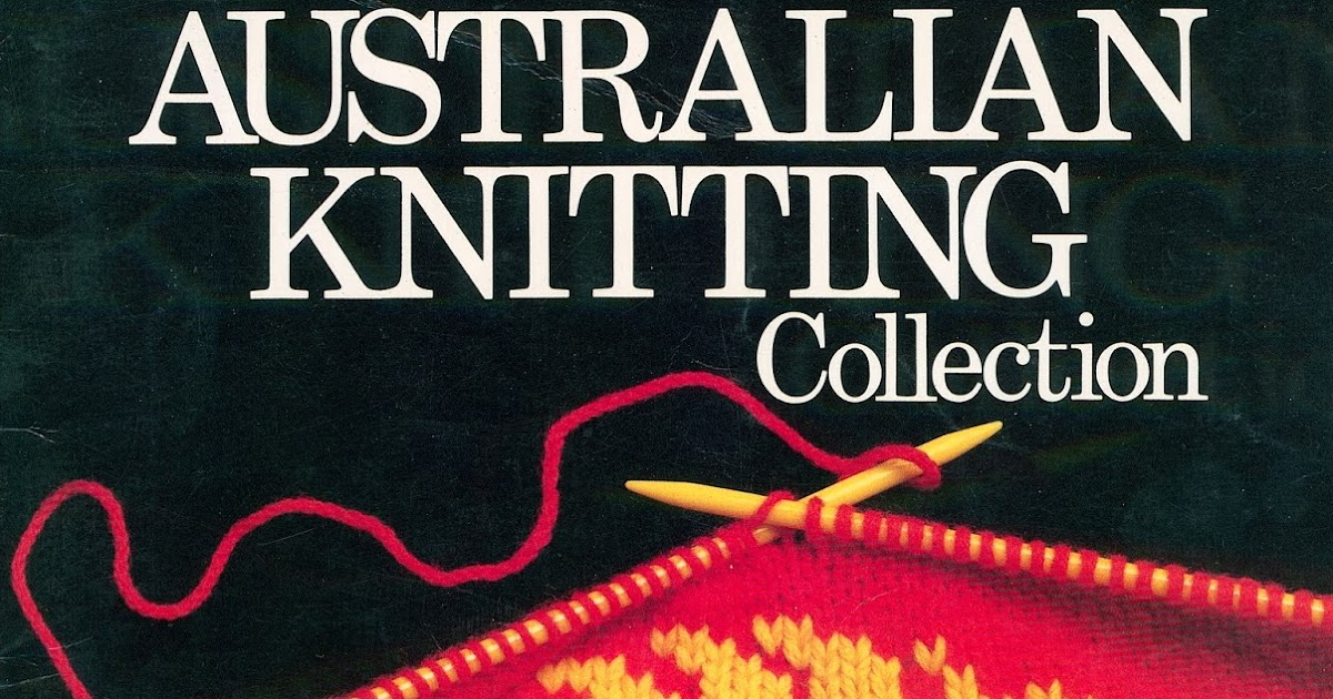 Sister Outlaws Belated Australia Day In Knitsice