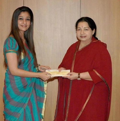 Nayan Meets Jayalalitha Stills Iamges Pictures Hot City