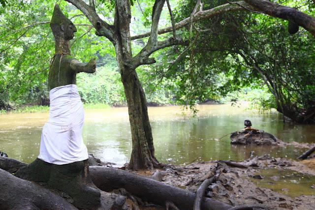 Oshun along the river