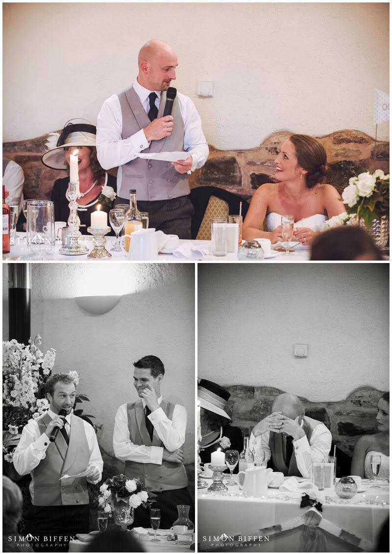 Old Corn Barn Devon wedding speeches